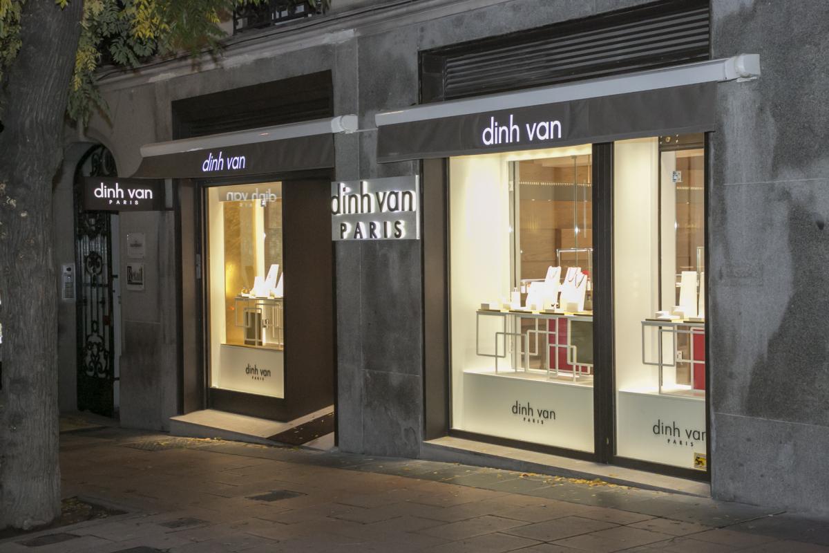 3279b5f53aef La Maison de joyería francesa dinh van presenta un nuevo concepto tras la  ampliación y rediseño de su boutique de Madrid
